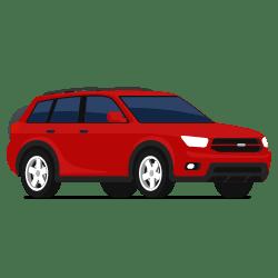 Illustration d'un véhicule à quatre roue motrices (4x4)