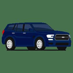 Illustration d'un véhicule de type SUV